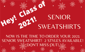 Senior Sweatshirts!