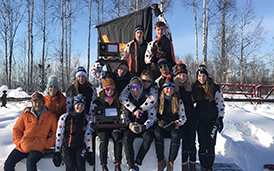 West High School wins 2018 Nordic Skiing Championship!