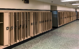West High lockers