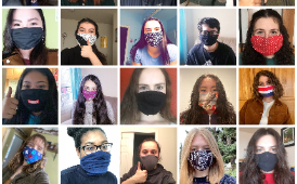 West students launch mask making campaign