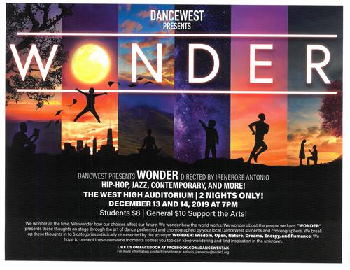 Wonder playbill