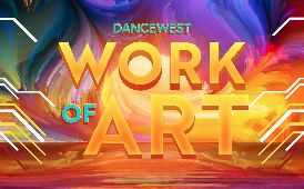 promotional logo for Work of Art