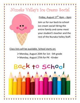 Ice Cream Social - August 17 4pm - 6pm