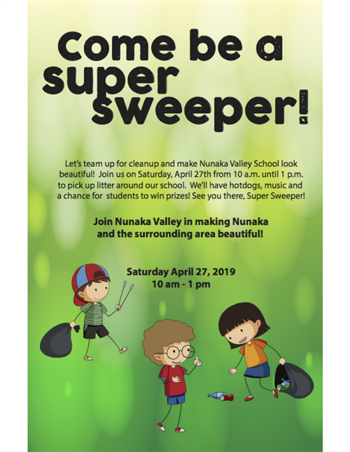 Super Sweeper Saturday April 27