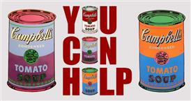 Canned Food Drive: November 4th-December 6th