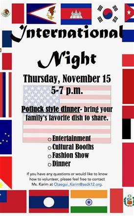 International Night flyer