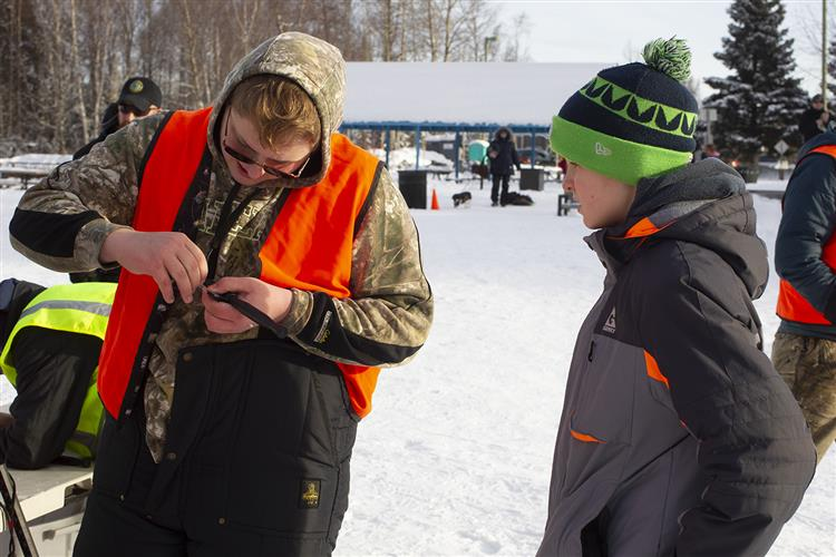 Gallery: Students Learn about Ice Fishing